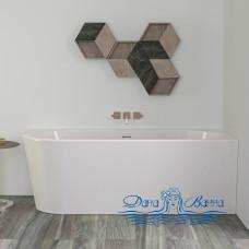 Ванна акриловая KNIEF Wall XS Corner 165x75 0100-255-L