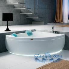 Ванна Jacuzzi Aquasoul Corner 155 R+C 155x155 с гидромассажем AQU60010700