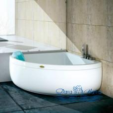 Ванна Jacuzzi Aquasoul Corner 140 R+C 130x130 с гидромассажем AQU-4001-0741