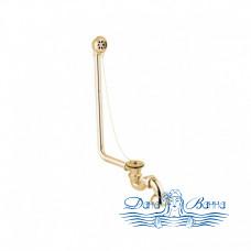 Декоративный слив-перелив для ванны Magliezza 927 в цвете золото