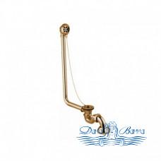 Декоративный слив-перелив для ванны Magliezza 927 в цвете бронза