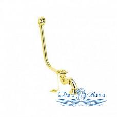 Декоративный слив-перелив для ванны Magliezza 939 в цвете золото
