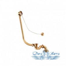 Декоративный слив-перелив для ванны Magliezza 939 в цвете бронза