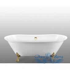 Ванна на лапах Magliezza Ottavia (165х76), ножки бронза