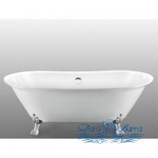 Ванна на лапах Magliezza Ottavia (165х76), ножки хром