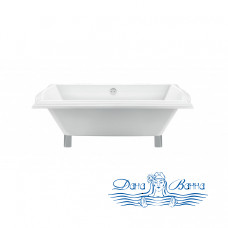 Отдельностоящая ванна Magliezza Riccarda (174х77), ножки золото