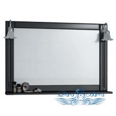 Зеркало СанТа Монарх 100  (черный)