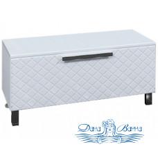 Шкаф напольный СанТа Калипсо 100 NEW (белый)