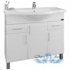 Тумба для ванной СанТа Дублин 97 (два ящика)