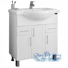 Тумба для ванной СанТа Дублин 80 (два ящика)