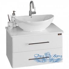 Тумба для ванной СанТа Вегас 70 (со столешницей) ящики