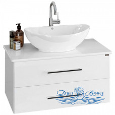 Тумба для ванной СанТа Вегас 80 (со столешницей) ящики