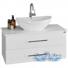 Тумба для ванной СанТа Вегас 90 (со столешницей) ящики