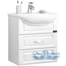 Тумба для ванной СанТа Верона 50 (подвесной) ящики