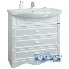 Тумба для ванной СанТа Верона 80/3 (напольная) три ящика