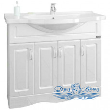 Тумба для ванной СанТа Верона 100 (дверки)