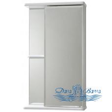 Зеркальный шкаф СанТа Стандарт Ника R (40 см) (белый) 101081