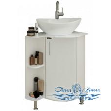 Тумба для ванной СанТа Аврора 70 угловая со столешницей