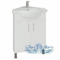 Тумба для ванной СанТа Аврора 65 (угловой)