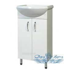 Тумба для ванной СанТа Стандарт Уют 45 (белый)