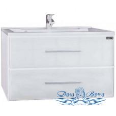 Тумба для ванной СанТа Омега 90 ELEN (белый) (подвесной)