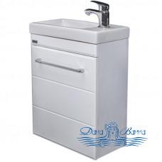 Тумба для ванной СанТа Омега 40 (белый) (подвесной)