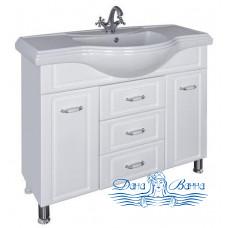 Тумба для ванной СанТа Монарх 105 (белый)