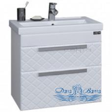 Тумба для ванной СанТа Калипсо 70 NEW (белый) (подвесной)