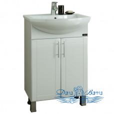 Тумба для ванной СанТа Дублин 60 (две дверки)