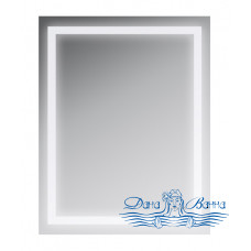 Зеркало AM.PM Gem (M91AMOX0551WG) (55 см) с LED-подсветкой