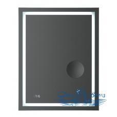 Зеркало AM.PM Gem (M91AMOX0553WG) (55 см) с LED-подсветкой, часами и косметическим зеркалом