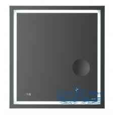 Зеркало AM.PM Gem (M91AMOX0653WG) (65 см) с LED-подсветкой, часами и косметическим зеркалом