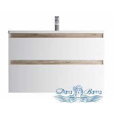 Тумба для ванной AM.PM X-Joy (M85AFHX1002WG) 100 см подвесная (два ящика) белый глянец