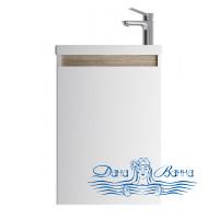 Тумба для ванной AM.PM X-Joy (M85AFHX0451WG) 45 см подвесная (одна дверца) белый глянец