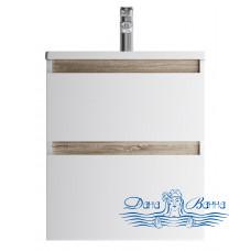 Тумба для ванной AM.PM X-Joy (M85AFHX0552WG) 55 см подвесная (два ящика) белый глянец