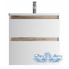 Тумба для ванной AM.PM X-Joy (M85AFHX0652WG) 65 см подвесная (два ящика) белый глянец