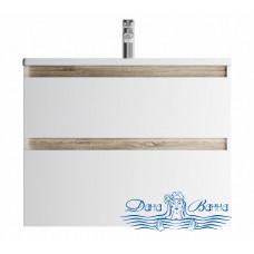 Тумба для ванной AM.PM X-Joy (M85AFHX0802WG) 80 см подвесная (два ящика) белый глянец
