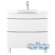 Тумба для ванной Am.Pm Like (M80FSX0802WG) (белый, глянец) (80 см)