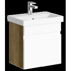 Тумба для ванной Aqwella Смарт 50 (дуб балтийский)
