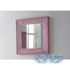 Зеркало Аллигатор Royal Комфорт 60 A (M) розовый, старый лак