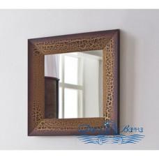 Зеркало Аллигатор Royal Комфорт 60 A (M) коричневый, старый лак