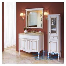 Комплект мебели для ванной Аллигатор Estete Aura 90 M-R