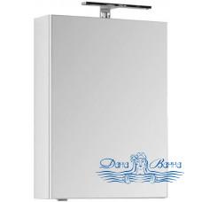 Зеркальный шкаф Aquanet Порто 50 белый (без светильника)