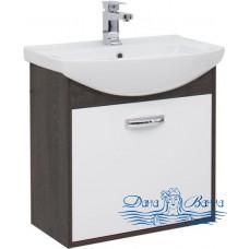 Тумба для ванной Aquanet Грейс 65 дуб кантербери/белый (1 ящик)