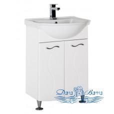 Тумба для ванной Aquanet Моника 60 белый
