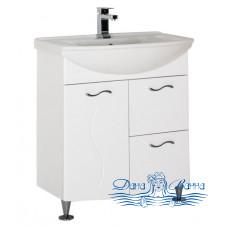 Тумба для ванной Aquanet Моника 75 белый