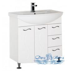 Тумба для ванной Aquanet Моника 85 белый