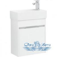 Тумба для ванной Aquanet Лидс 50 белый