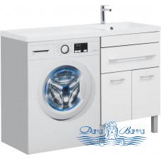 Тумба для ванной Aquanet Верона 120 R напольная 1 ящик 2 дверцы (белый)