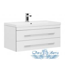 Тумба для ванной Aquanet Верона NEW 90 (белый) подвесная 2 ящика